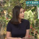 【画像】報ステの女子アナ・森川夕貴さんのおっぱい、割とガチのマジでエチチ???