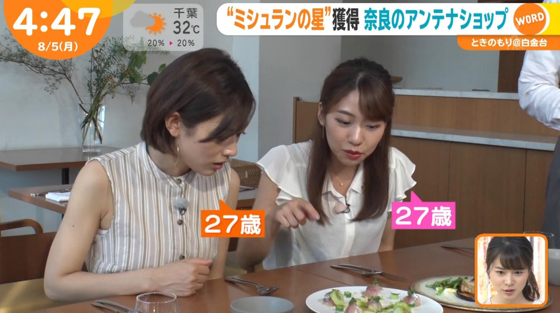 フリーアナウンサー・中西悠理さん出演「はやドキ!」のテレビキャプチャー画像-080