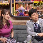 【画像】テレビ東京「FOOT×BRAIN」で鷲見玲奈さんの着衣おっぱいと佐藤美希さんのスッピン😍
