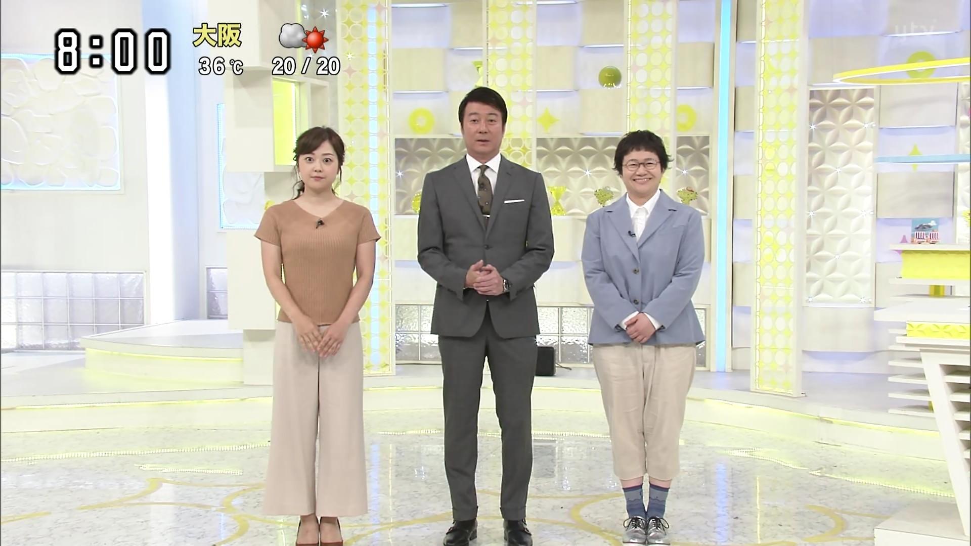 2019年8月13日に放送された「スッキリ」に出演した水卜麻美さんの画像-044