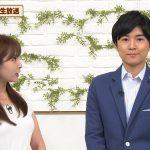 【画像】テレビ東京女性アナウンサー・角谷暁子さんの白いおっぱいがパンッパンでエッッッ?