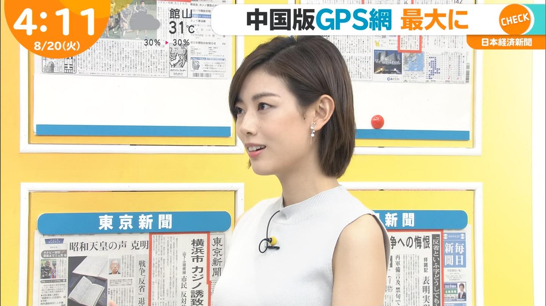 2019年8月20日に放送された「はやドキ!」に出演した中西悠理さんのTVキャプチャ画像-077