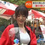 【画像・GIF】テレビ東京女性アナウンサー・森香澄さんのおっぱいの膨らみと乳揺れがエチエチな「よじごじdays」???