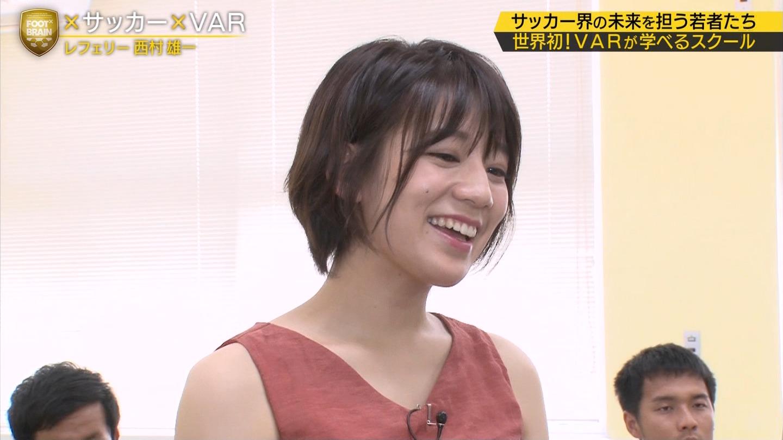 2019年8月24日にテレビ東京系列で放送された「FOOT×BRAIN」に出演した佐藤美希さんのテレビキャプチャー画像-079