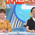 【画像・GIF】日曜日の爆乳…テレビ朝日女子アナ・三谷紬さん、おっぱいぷるぷるダンス?