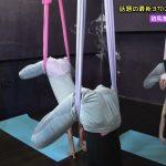 【画像】YTV「音力」でNMB48白間美瑠さん、谷川愛梨さん、安田桃寧さんのエアリアルヨガおっぱいやお尻がエッチ???