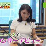 【画像】アナウンサーデビューしたMBS・野嶋紗己子さん、「押忍」でおっぱいが小刻みにゆさゆさ???