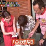 【画像・GIF】モヤモヤさまぁーず2・新アシスタントのテレ東・田中瞳さんのノースリーブ衣装でおっぱいの谷間やワキがエチエチ😍😍😍