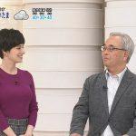 【画像】TBS・Nスタでキャスターをやっているホラン千秋さん、おっぱいがめっちゃデカ∃?