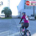 【画像】ABC女子アナ・斎藤真美さんのサイクルジャージ姿が可愛くてちょっとエッチにも見えるおはようコールABC?