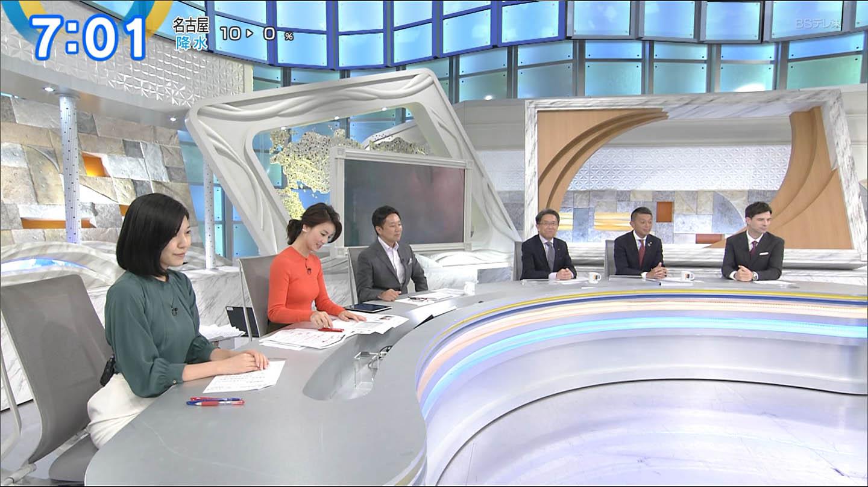 テレビ東京・秋元玲奈さんの着衣おっぱいの画像-009