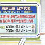 【画像】テレビ東京「SPORTSウォッチャー」鷲見玲奈さんのノースリーブおっぱいがエチエチデカ∃???