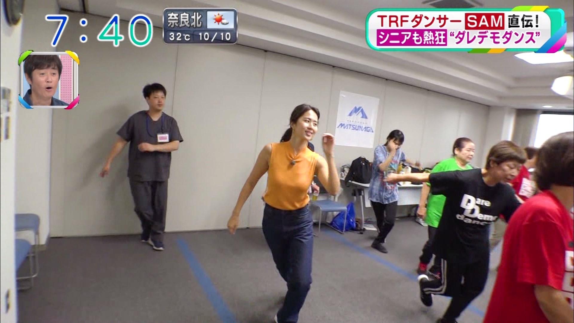 2019年9月16日に放送された「おはよう朝日です」に出演した安藤絵里菜さんのテレビキャプチャー画像-049
