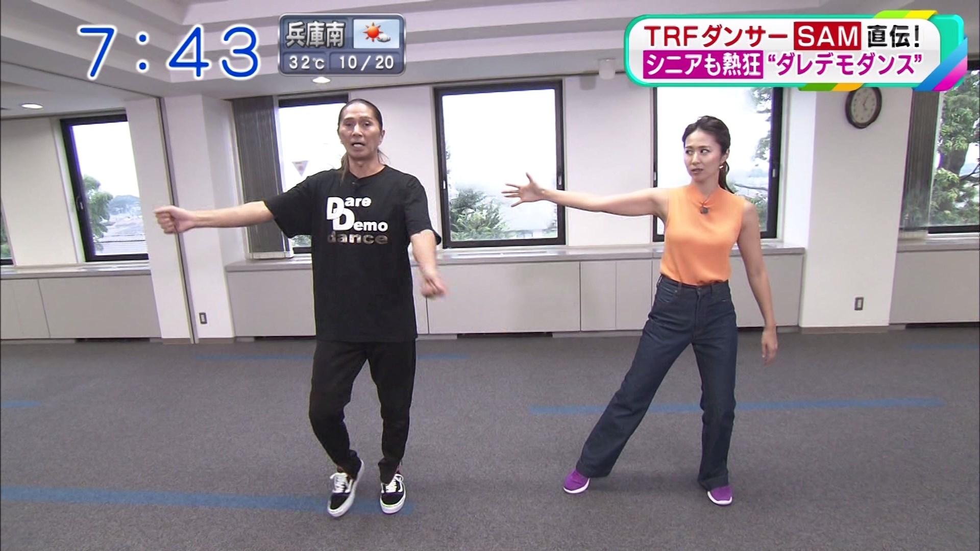 2019年9月16日に放送された「おはよう朝日です」に出演した安藤絵里菜さんのテレビキャプチャー画像-100