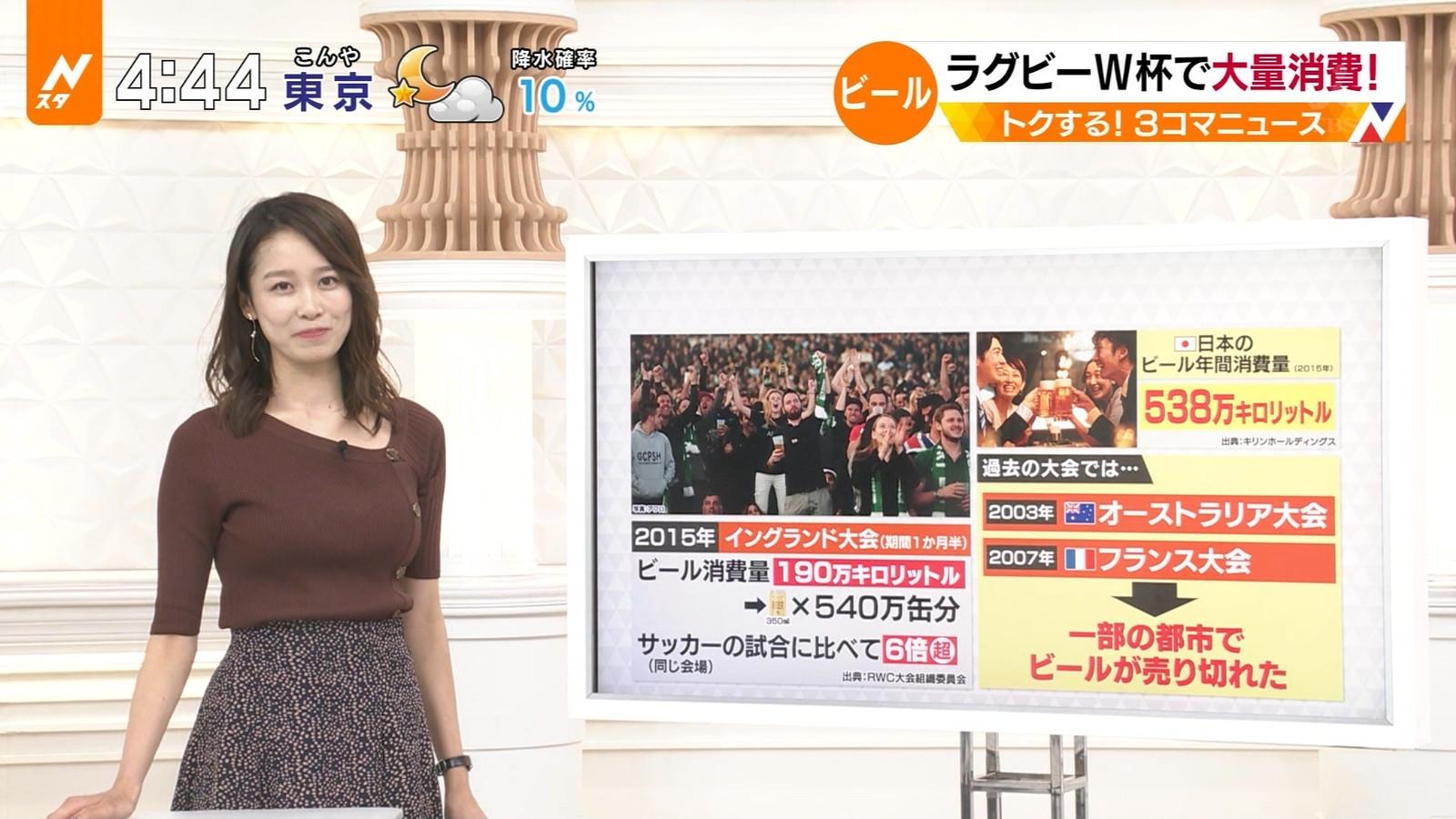 TBS女子アナ・良原安美さんのテレビキャプチャー画像-001