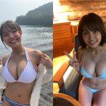 【画像】JKグラビアイドル・寺本莉緒さんのデカすぎおっぱいを引き締まったお腹がエッッッッ?