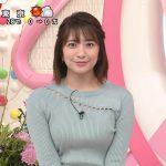 【画像】日テレ「Oha!4 NEWS LIVE」で笹崎里菜さんのブラ紐チラ見え着衣巨乳おっぱい?