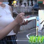 【画像】日テレ「eGG」に出演した女子アナ・佐藤梨那さんのスカートのあの▼の空間とノースリーブおっぱいがエロ∃???