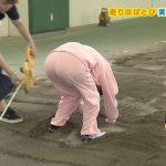 【画像】NHK Eテレ「すイエんサー」走り幅跳びですイエんサーガールのジャージの生地薄々お尻???
