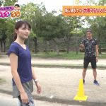 【画像】MBS新人女性アナウンサー・清水麻椰さんの大阪マラソントレーニング中のお尻とスレンダーボディがエロ∃?