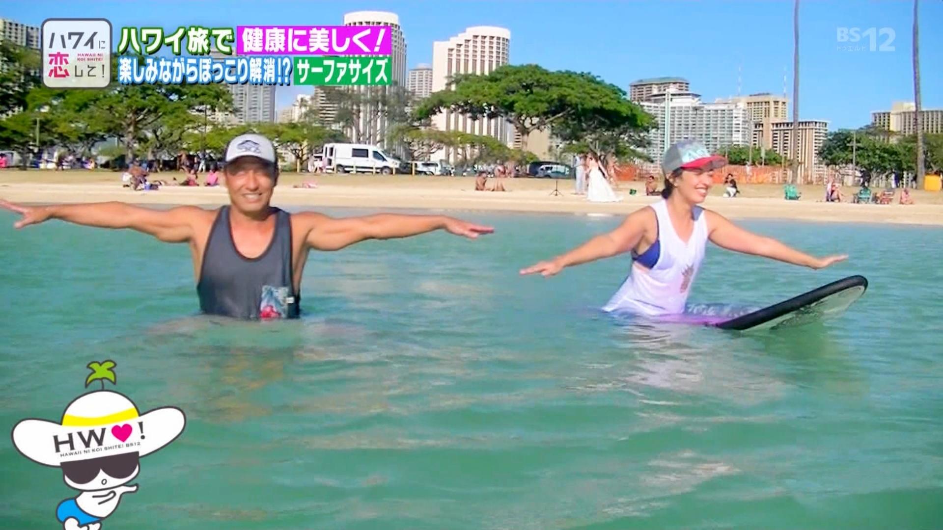 2019年8月11日にBS12で放送された「ハワイに恋して」のテレビキャプチャー画像-045