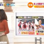 【画像】TBS女性アナウンサー・良原安美さんのスレンダー巨乳系ニットおっぱいがエッチなNスタ?