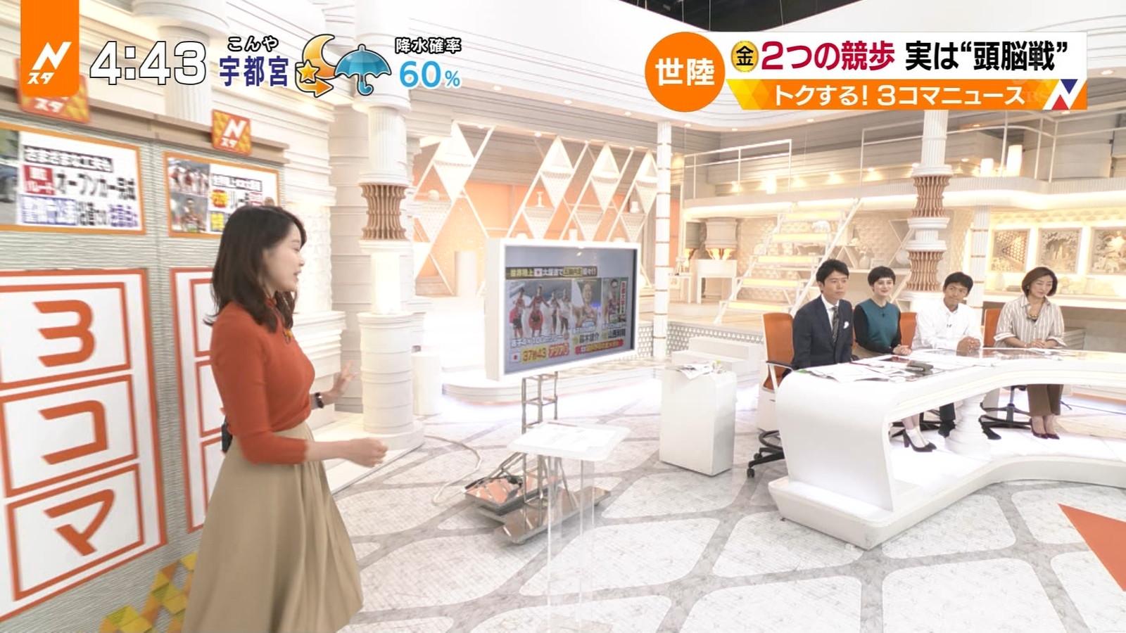 2019年10月7日の「Nスタ」に出演した良原安美さんのテレビキャプチャー画像-011