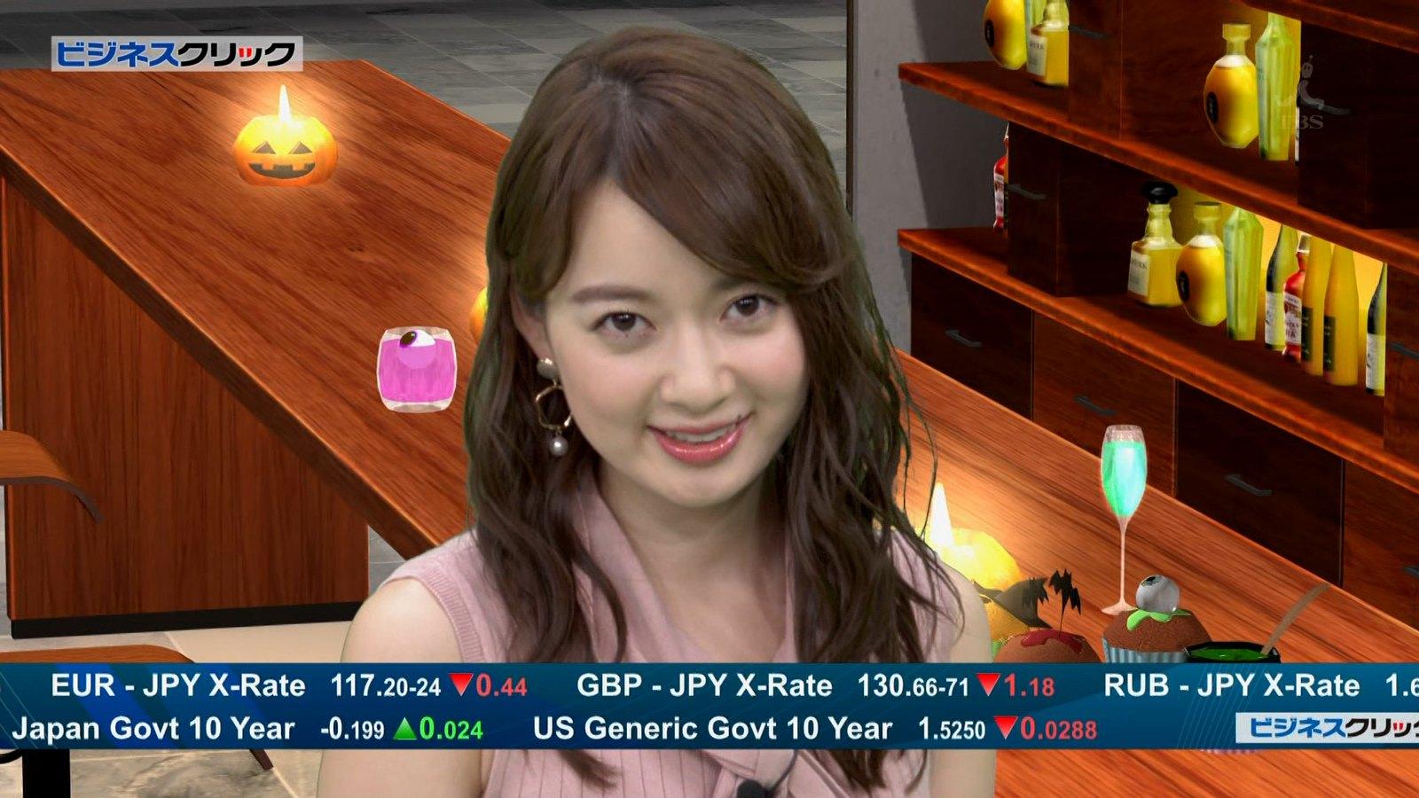 2019年10月8日に放送された「ビジネスクリック」に出演した中城あすかさんのテレビキャプチャー画像-050