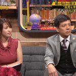 【画像】テレビ東京女子アナ・鷲見玲奈さんのノースリおっぱいがゴイスーな「FOOT×BRAIN」😍⚽😍⚽😍⚽
