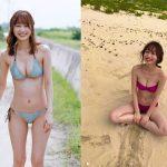 【画像】タレント・高田秋さんの水着姿や下着姿が意外とおっぱいでエッッッッッッッ😍😍😍😍😍😍