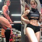 【画像・動画】ゴリゴリマッショな筋肉ムキムキ女子のカラダがホントにスゴ∃😳😳😳😳😳