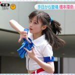 【動画・GIF】カラダWEEK「TT体操」で橋本環奈さんおっぱいがぷるるんぷるるん😍😍😍😍😍😍