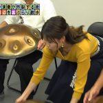 【画像・GIF】テレビ東京「モヤモヤさまぁ~ず2」で女性アナウンサー・田中瞳さんのほんのちょっと胸チラと全力坂で揺れるおっぱいがカワ∃😍😍😍😍😍😍