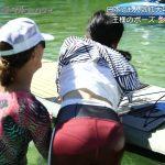 【画像】関西テレビ「ボディメイク トラベル in ハワイ」で大石恵さんのおっぱいと松井愛莉さんのおパンツラインがエッッッッッッ😍😍😍😍😍😍😍
