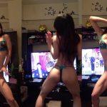 【動画】エチエチ下着姿のお姉さん、オニエッチな「本能寺の変」ダンスを披露😍😍😍😍😍😍😍