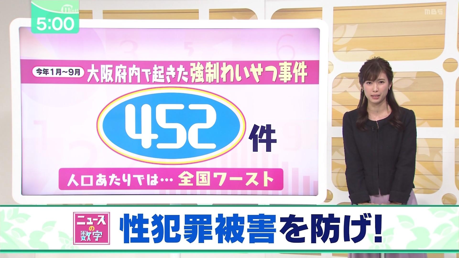 2019年11月8日に放送された「ミント!」に出演した玉巻映美さんのテレビキャプチャー画像-007