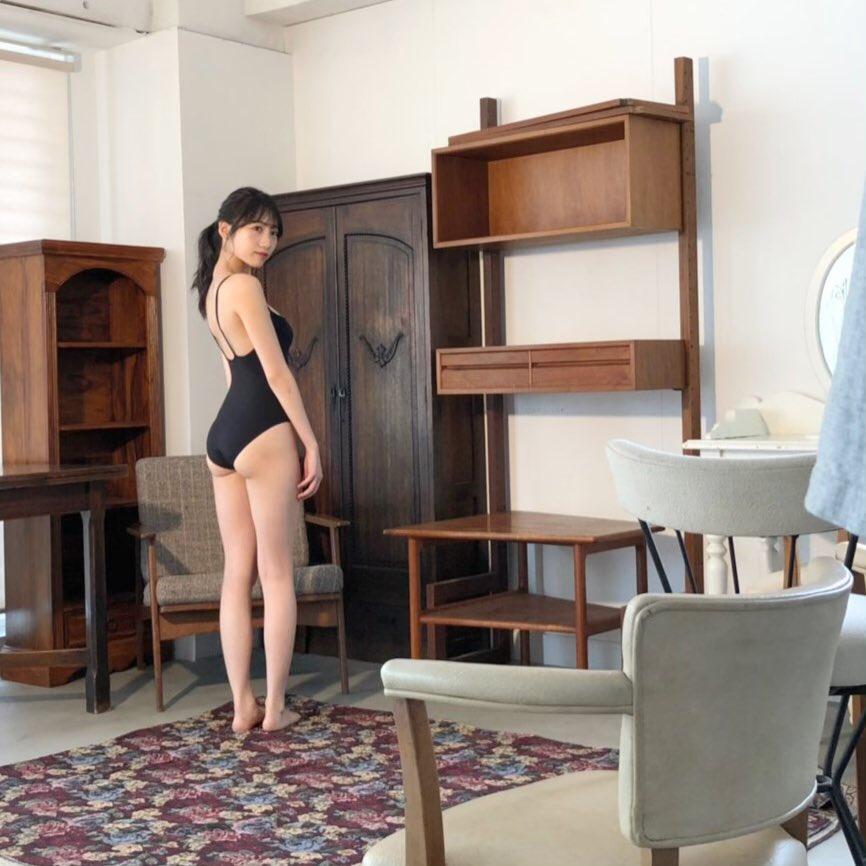 NMB48・横野すみれさんの水着姿-298