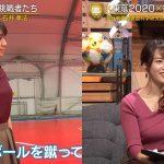 【画像】テレビ東京「FOOT×BRAIN」で女性アナウンサー・鷲見玲奈さんとタレント・佐藤美希さんのニットおっぱいがエッッッッッッ😍😍😍😍😍