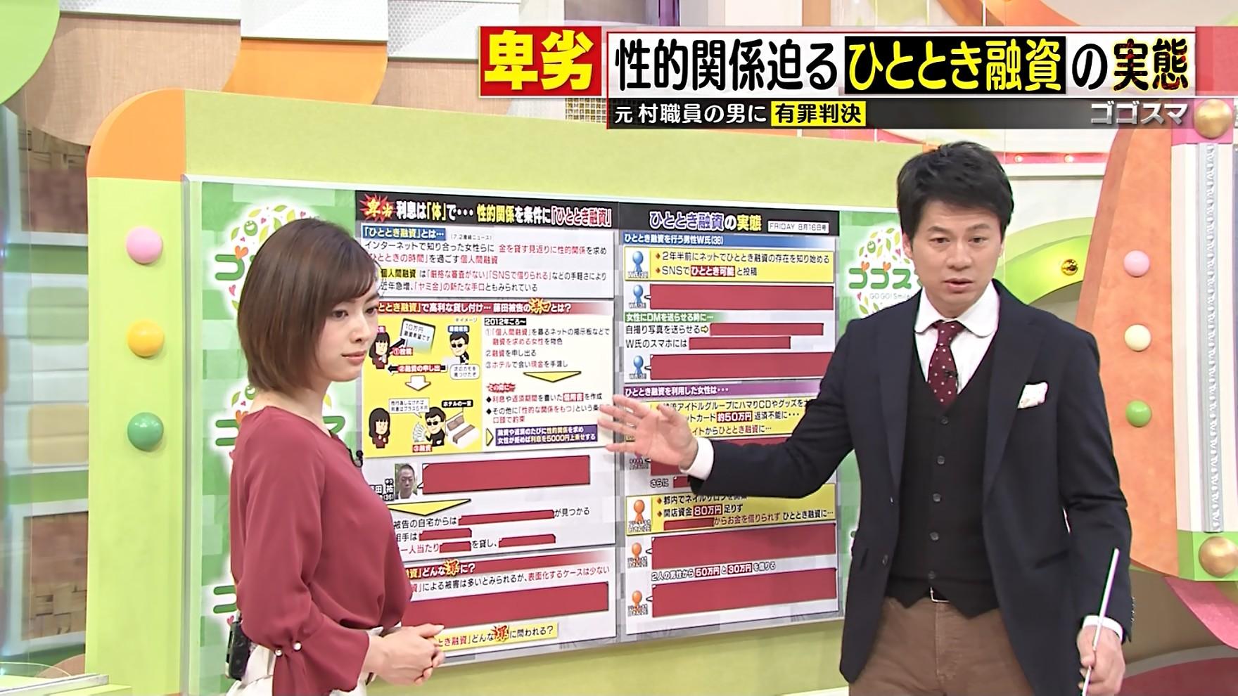 2019年11月20日に放送された「ゴゴスマ」に出演した中西悠理さんのテレビキャプチャー画像-001