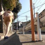 【画像】タイトなミニスカートでお尻パツパツサービスな矢代ももさんの全力坂😍💨😍💨😍💨😍💨
