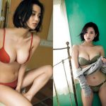 【画像】タレント・出口亜梨沙さんのGカップおっぱいが魅力的過ぎるエチエチボディ😍😍😍😍😍😍