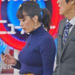 【画像・GIF】Abema的ニュースショーの三谷紬さんのニットおっぱいがめっちゃデカくてエロ∃😍😍😍😍😍