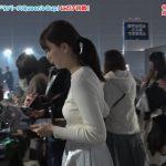 【画像】日本テレビ「eGG」に出演した佐藤梨那さんの白ニットおっぱいの膨らみと背中の透けブラエッッッッッ😍😍😍😍😍