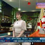 【画像】TBS「ビジネスクリック」で年内ラスト放送を彩る井口綾子さんのめっちゃパンパンおっぱい😍😍😍😍😍