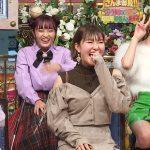 【画像】日本テレビ「超踊る!さんま御殿!!」に出た生見愛瑠さんがミニスカートで太ももと▼の空間みえまくりでエロカワ∃😍😍😍😍😍