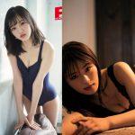 【画像】NMB48メンバーのグラビアがおっぱいやお尻をアピールしていてエロ∃😍😍😍😍😍
