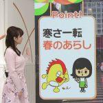 【画像】日本テレビ「news zero」で女子アナ・河出奈都美さんのニットおっぱいがエチエチすぎて話題が頭に入ってこない問題😍😍😍😍😍