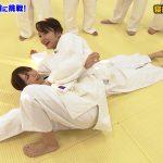 【画像・GIF】BSテレ東「スポさま」で女子アナ・竹崎由佳さんの柔道着姿…ワイも寝技で絞められ隊😍😍😍😍
