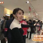 【画像】MBS女子アナ野嶋紗己子さん、ちちんぷいぷいのロケでニットおっぱいのとんがった膨らみ😍😍😍😍😍😍