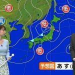 【画像】TBS「Nスタ」で気象予報士・奈良岡希実子さんのニットおっぱいがエッッッッッ😍☀️😍☀️😍☀️😍☀️😍☀️